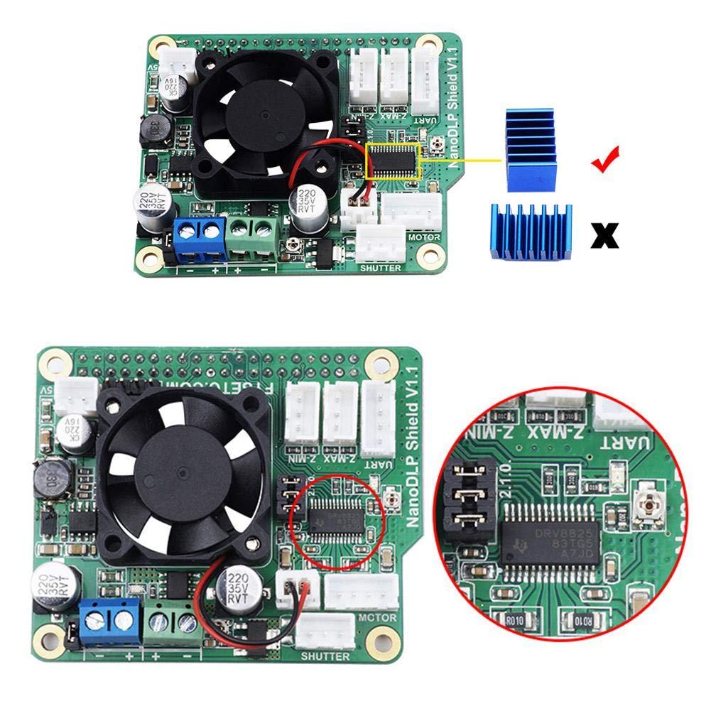 Amazon com: Widewing 3D Printer Parts Nano DLP Shield V1 1