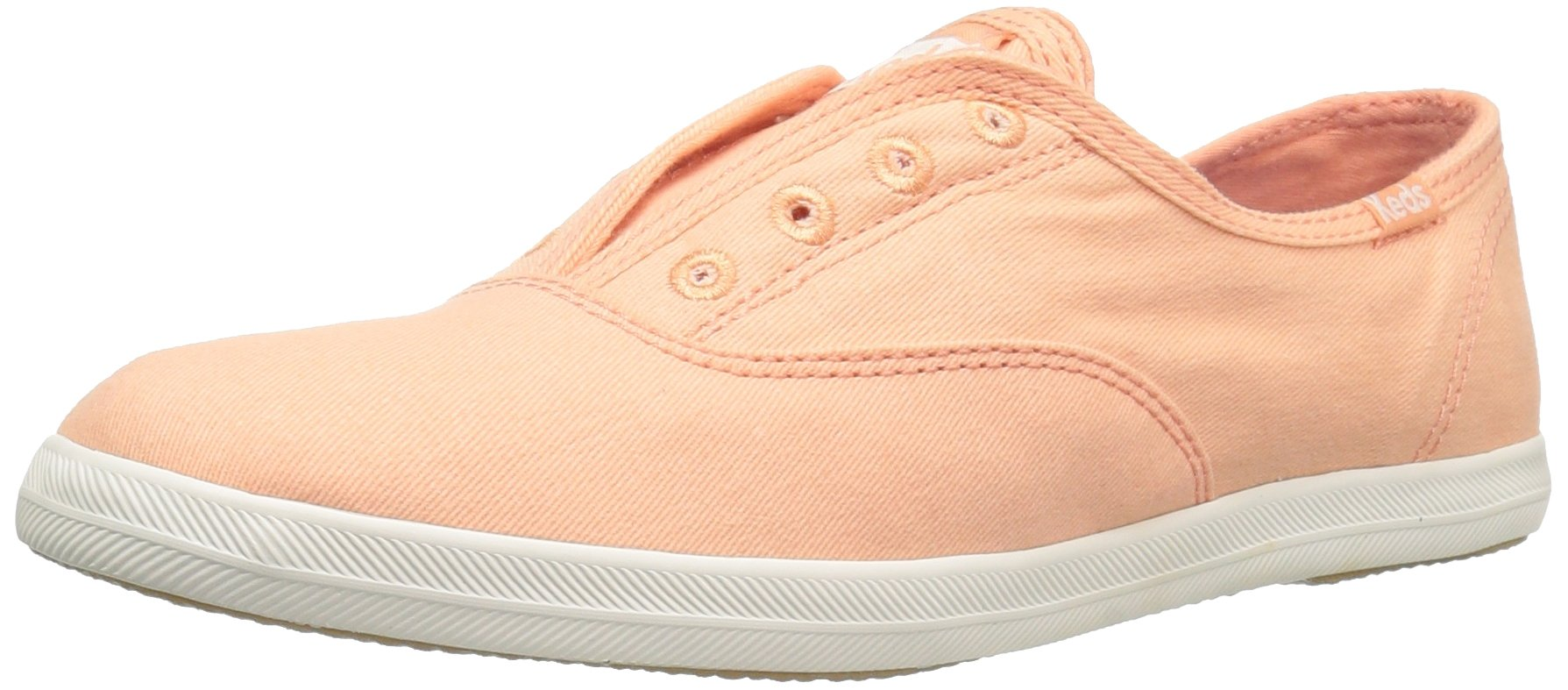 Keds Women's Chillax Fashion Sneaker, Peach Pink, 10 M US