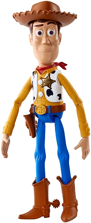 Amazon.com  Disney Pixar Toy Story Talking Woody (Amazon Exclusive ... bc6a4601913