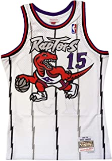 size 40 5b865 ca481 Amazon.com : Mitchell & Ness Vince Carter Toronto Raptors ...