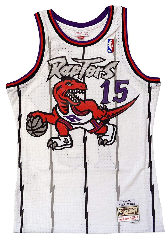 on sale 616a4 b51f3 Amazon.com : Mitchell & Ness Toronto Raptors Vince Carter ...
