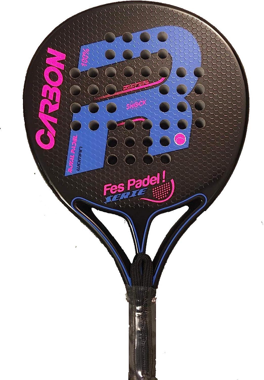Pala Racket Padel Royal Padel Carbon FesPadel Serie Woman Polietileno 2021