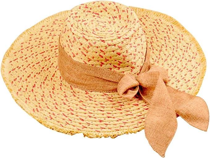 Strohkappe Strohhut Damen Hut