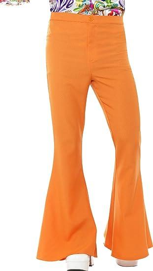 Smiffy s Smiffys-44906XL Pantalones Acampanados años 60 8c685a824b57