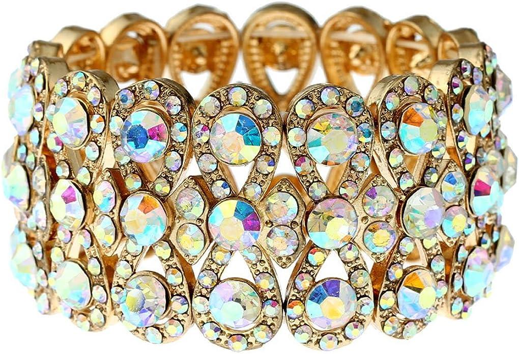 Crystal Rhinestone Bangles