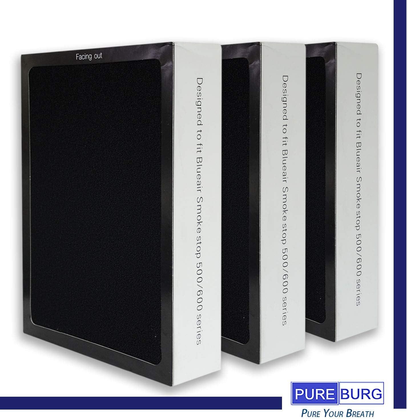 Pureburg - Juego de filtros HEPA de Repuesto para purificadores de ...