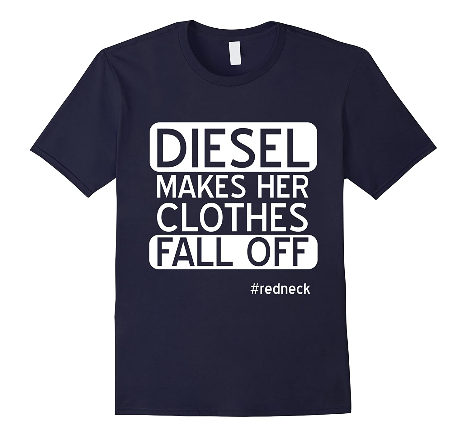 Makes Her Clothes Fall Off Diesel Lifted Truck Outdoors Tee-TH
