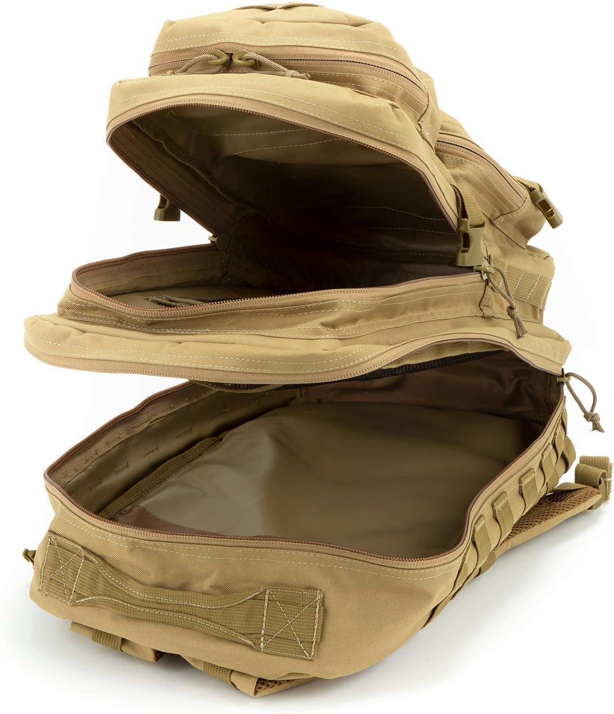 US Army Pack dassaut II Sac /à dos utilisation arri/ère 50 L litre