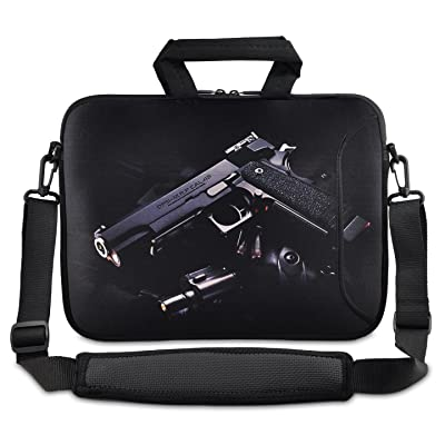 """80%OFF Desert eagle Gun 9.7"""" 10"""" 10.2"""" inch Laptop Netbook Tablet Shoulder Case Carrying Sleeve bag For Apple iPad/Asus EeePC/Acer Aspire one/Dell inspiron mini/Samsung N145/Lenovo S205 S10/HP Touchpad Mini 210"""
