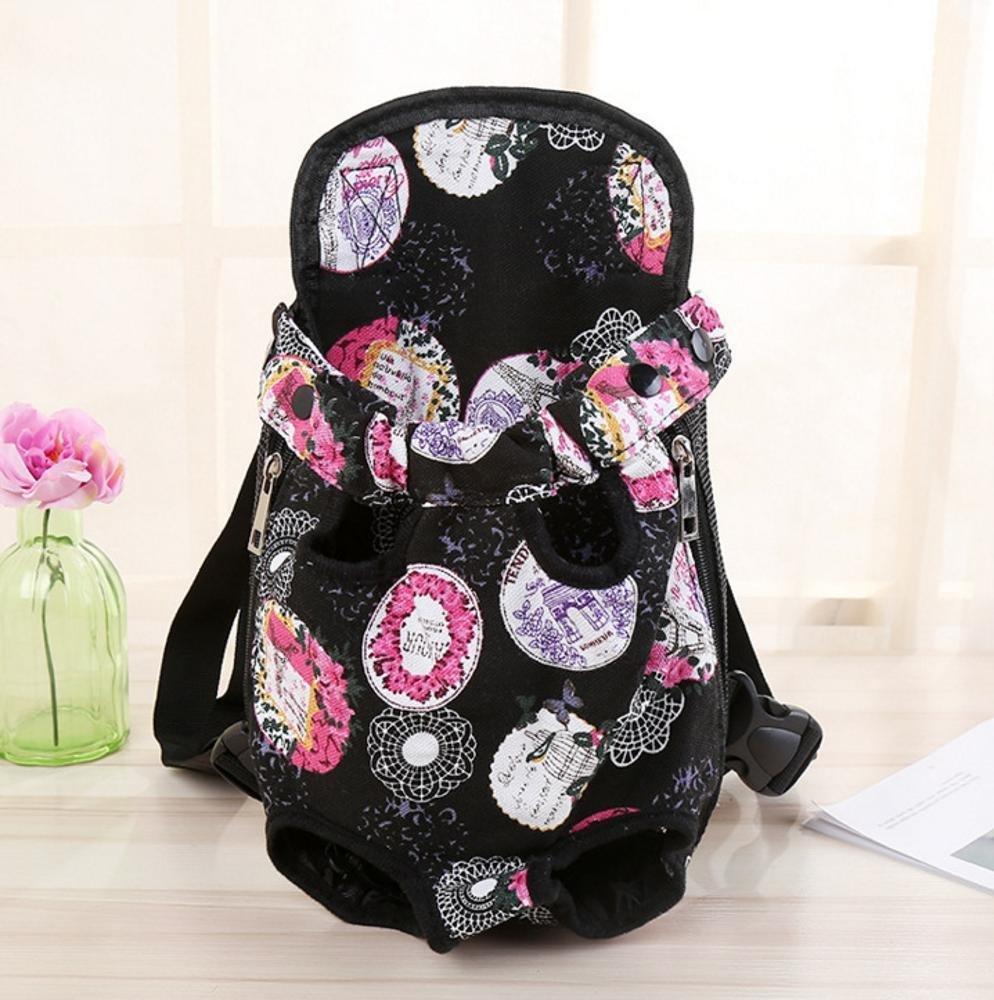 C 3220cm C 3220cm Daeou Pet Backpack Portable pet Bag with Double Shoulder Backpack