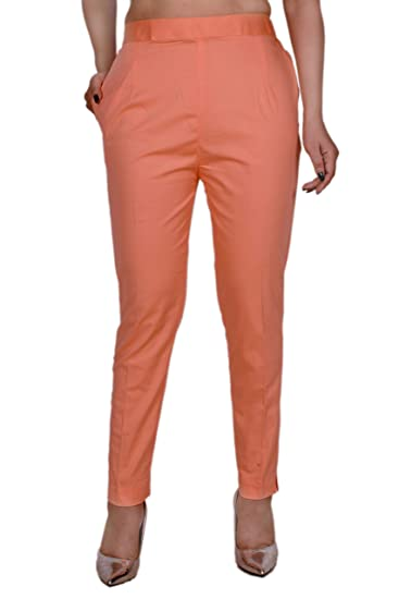 Buy Regular Fit Women Peach Trouser At Amazon In Regular fit women's bib <li&g. amazon in