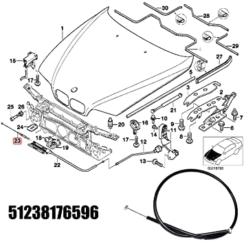 amazon autopa engine hood release cable kit for bmw 5 series BMW E34 M5 amazon autopa engine hood release cable kit for bmw 5 series e39 automotive