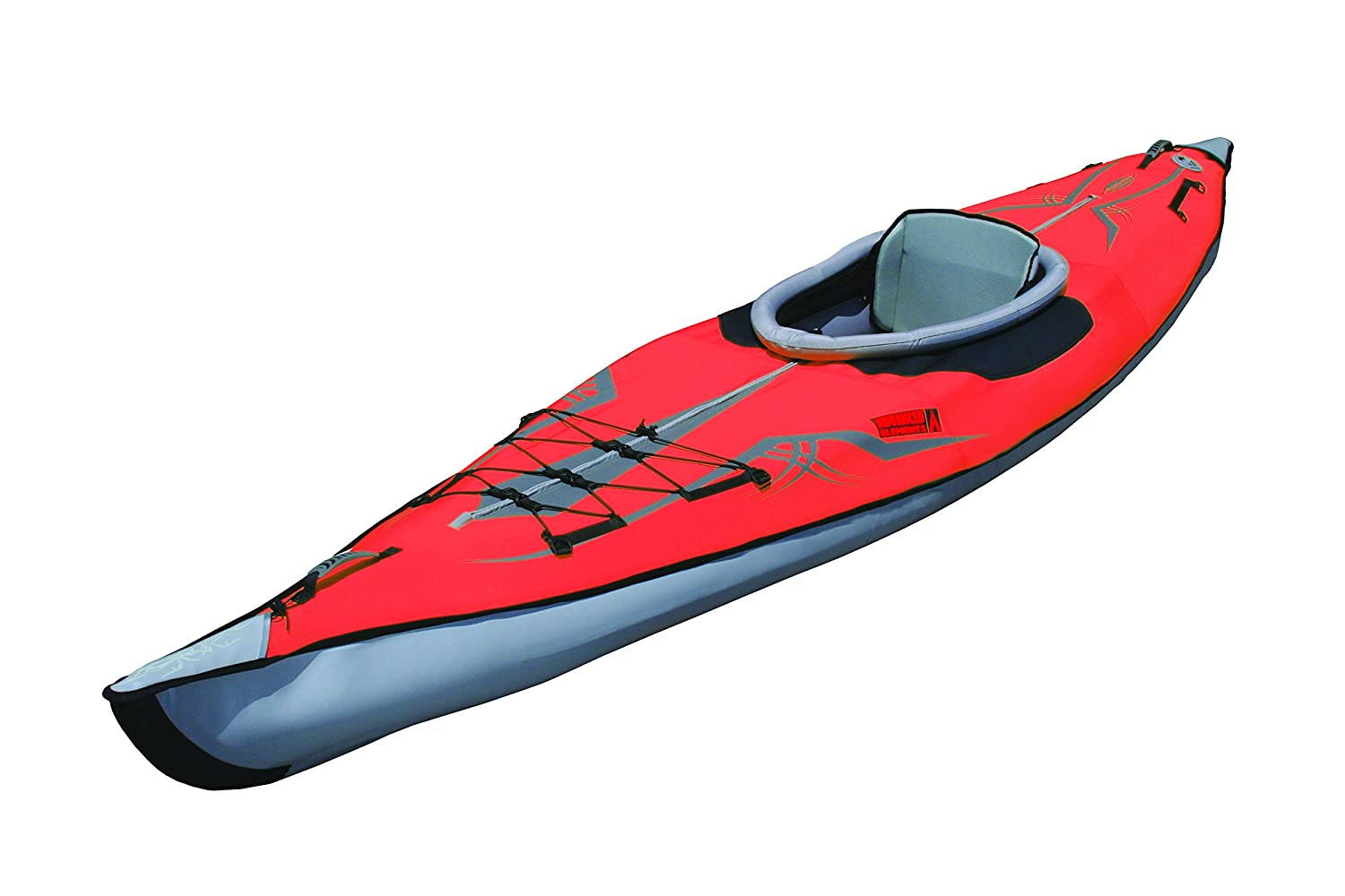 Advanced Elements AdvancedFrame Expedition Kayak - Kayak hinchable, color rojo: Amazon.es: Deportes y aire libre