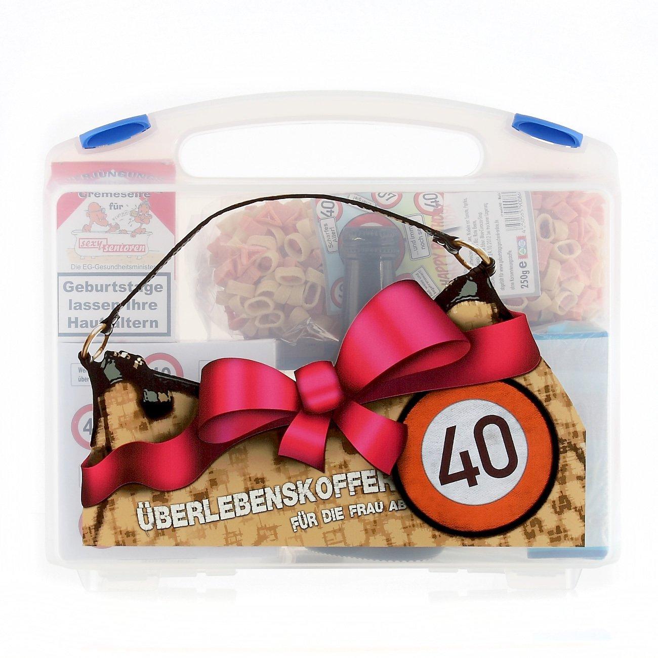 Lustige Apotheke Überlebenskoffer für die Frau ab 40 (8 teilig) Lustapotheke®