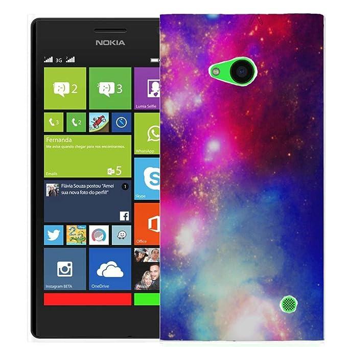Carcasa rígida para iphone 5, diseño de printed caso para Nokia Lumia 730 735 –