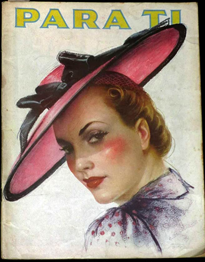 Para Ti / For You Fashion Couture Style November 1939 Vintage Magazine Like Vogue at Amazons Entertainment Collectibles Store