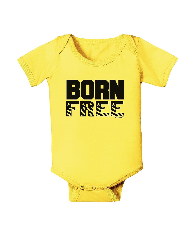 TooLoud Born Free Baby Romper Bodysuit