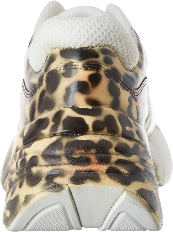 Pinko Rubino Animalier, Sneaker Infilare Donna Multicolore Multi Bianco Bruciato Zla
