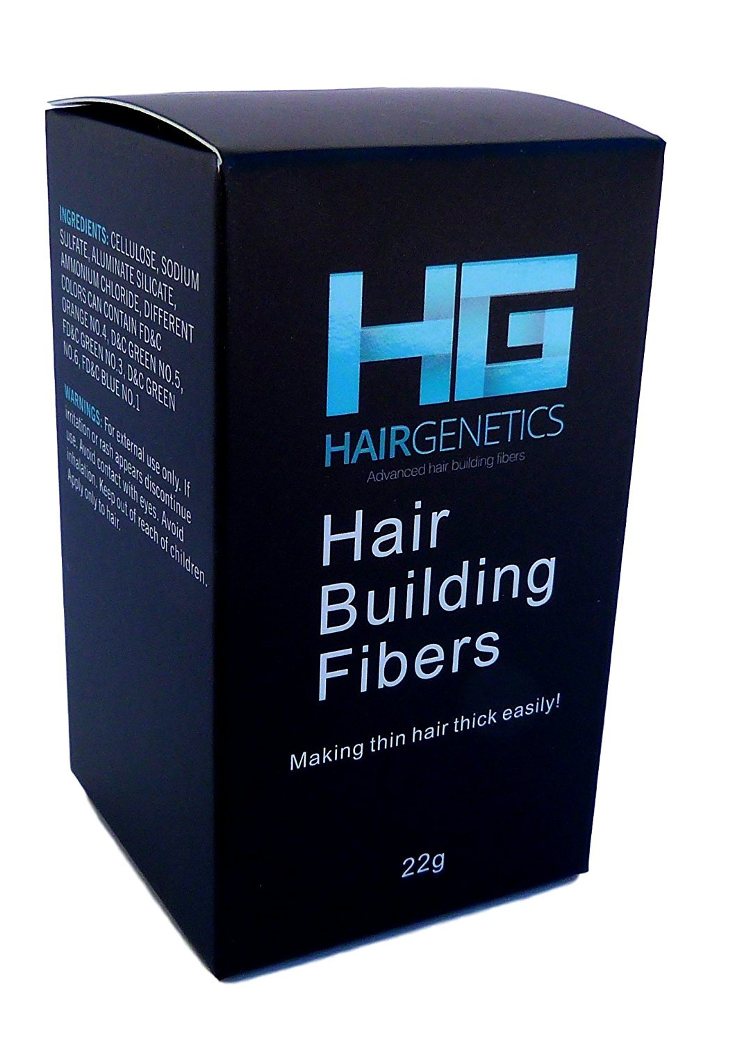 Dark Brown Hair Building Fibers Large 22g Pack Amazing New ...