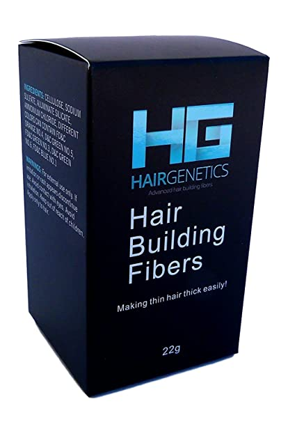 Dark Brown Hair Building Fibers Large 22g Pack Amazing New Concept to Save Money, Fibres