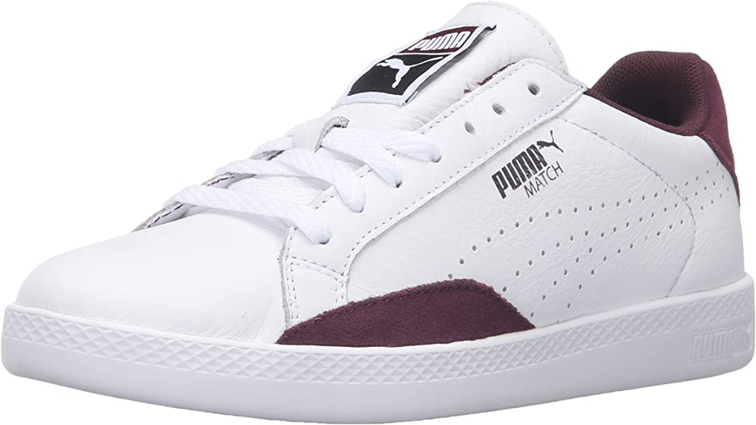 6dc59ad53d2c PUMA Women s Match LO Basic Sports WN s Tennis Shoe White Winetasting