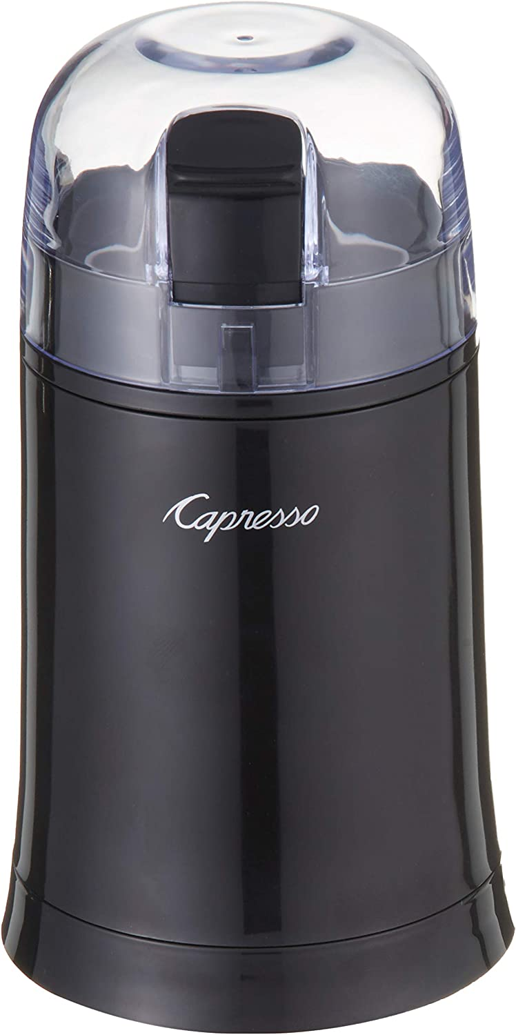 Capresso 505.01 Cool Grind Coffee Spice Grinder, Black