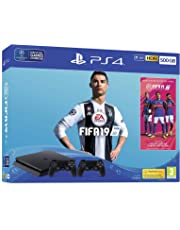 FIFA 19 500GB PS4 Bundle - with second DUALSHOCK 4, FIFA 19 Ultimate Team Icons and Rare Player Pack - PlayStation 4 [Edizione: Regno Unito]