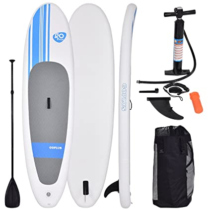 10 FT – Tablero Sup inflable Stand Up Paddle Board suave w/tabla de surf