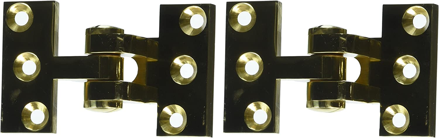 Deltana SBIH2510CR003 Solid Brass Intermediate Hinge Use with Pivot Hinge for Large Doors