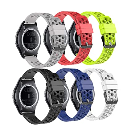 Fit-power - Correa de Repuesto para Reloj Inteligente Samsung Gear Sport/ Samsung Gear