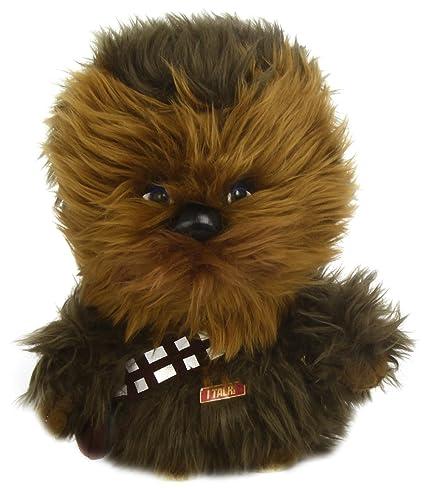 amazon com star wars plush stuffed talking 9 chewbacca character