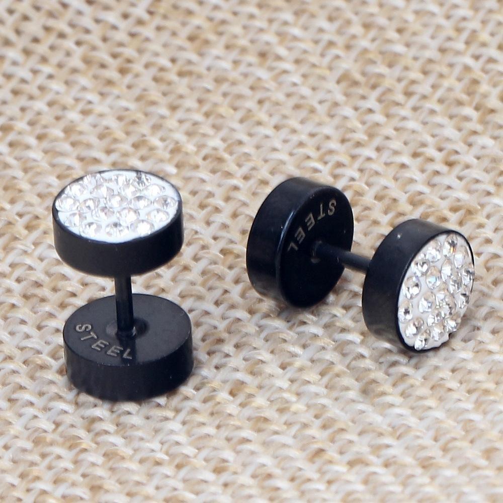 Weiwei Titanium Steel Earring Crown Earring Earrings Men and women general