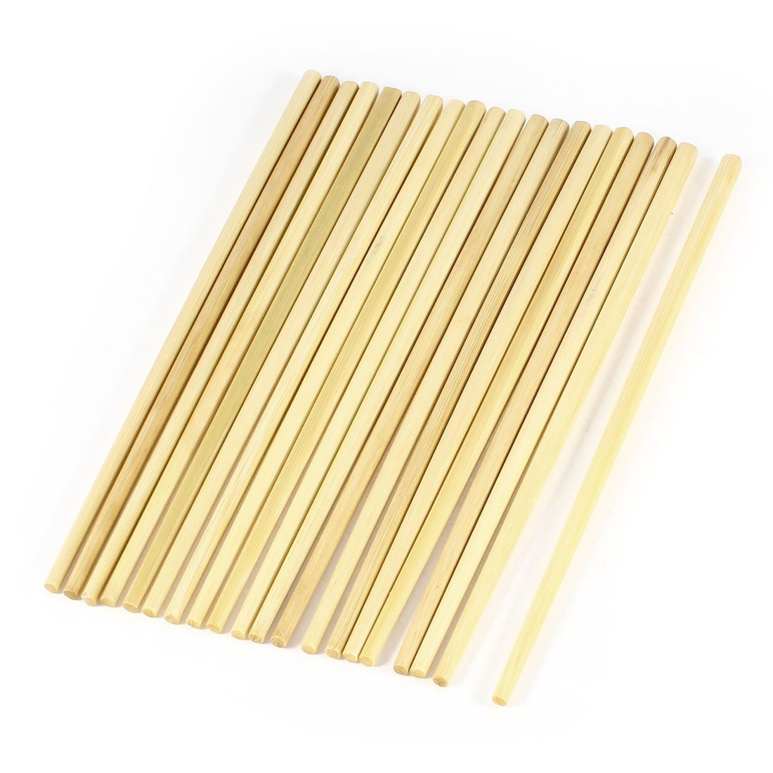 Bamboo Chopsticks - TOOGOO(R) 10 Pair 24cm Long Beige Bamboo Chinese Traditional Kitchen Chopsticks SODIAL(R) LEPAZN4432