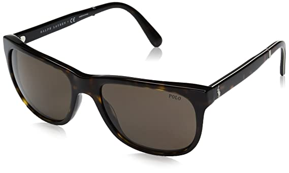 Ralph Lauren POLO 0PH4116 Gafas de Sol, Shiny Dark Havana, 58 para ...