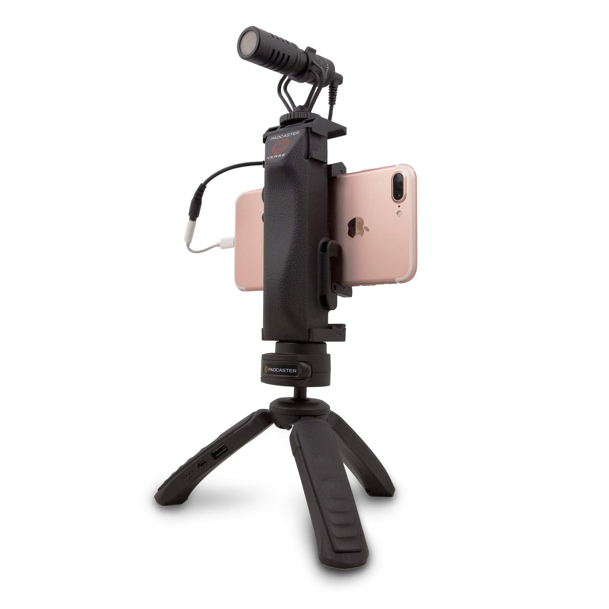 The Padcaster Verse-Go, Video Production for Smartphones by PADCASTER