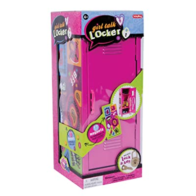 Schylling MLM Girl's Talk Locker, 11.25-inch: Toys & Games