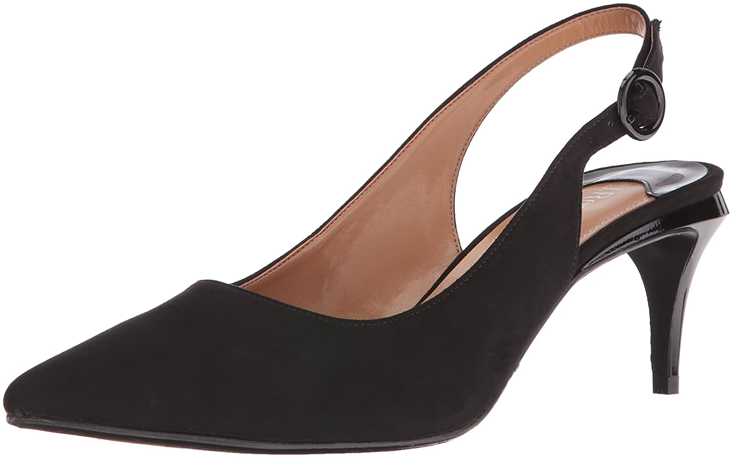 J.Renee Women's Pearla Dress Pump B01INJOLLI 10.5 B(M) US|Black Suede