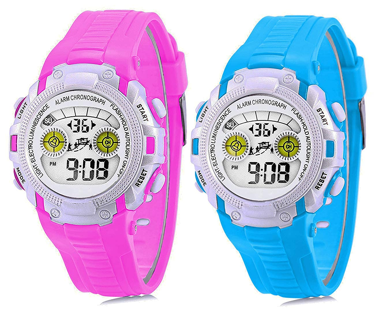 Time Up Combo Digital Colorful Watches for Kids