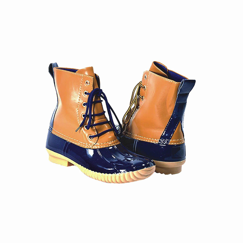 Avanti Women's Rosetta Duck Boots - Waterproof B076DKFTQR 9 M US|Navy