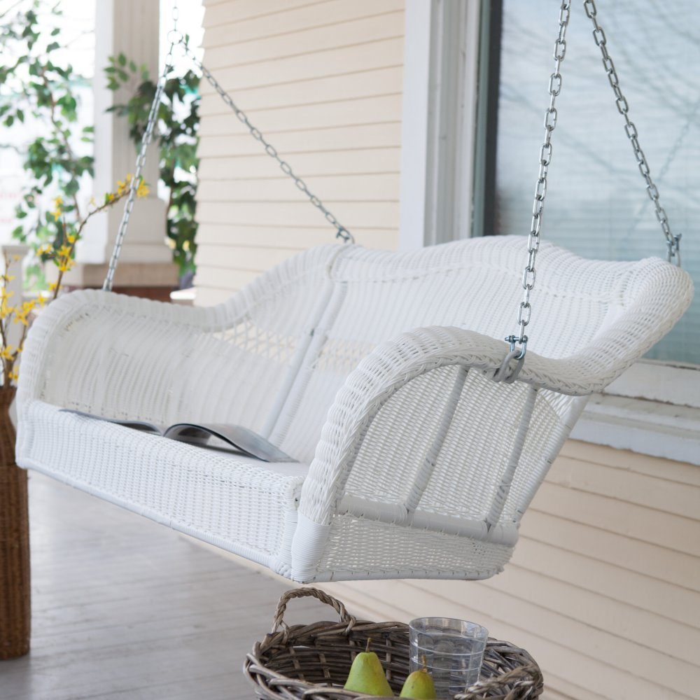 outdoors lowes garden at furniture pl brown gliders porch patio swing swings resin shop treasures com