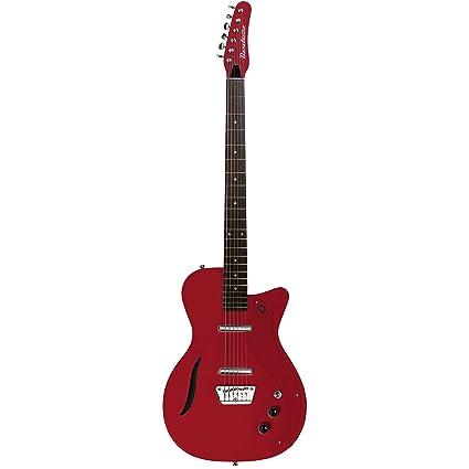 Danelectro vbarvwht guitarra eléctrica, color blanco