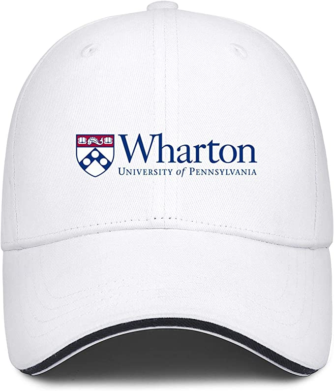 Baseball Cap Men Women Classic Adjustable Hat Unisex University-of-Pennsylvania-Wharton-Logo