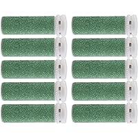 Foot Solutions Super Coarse Emjoi Micro-Pedi Refills Rollers Compatible with Emjoi Micro-Pedi Callus Remover (10 Pack…
