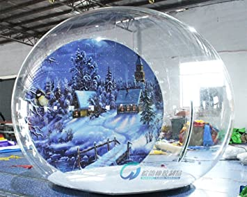 4 M/3 m decoración de Navidad Airblown hinchable bola de ...