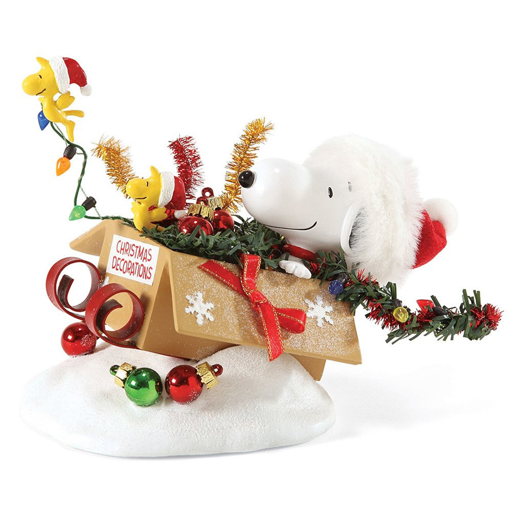 Department 56 Possible Dreams One-Bird Open Sleigh Figurine, 6 inch