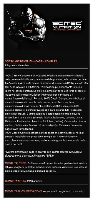 Amazon.com: 100% caseína Complex – 5.181 lbs – Sandía blanco ...