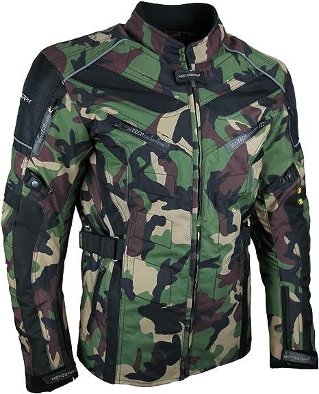 Heyberry Touren Motorrad Jacke Motorradjacke Textil Camouflage Grün Gr M Auto