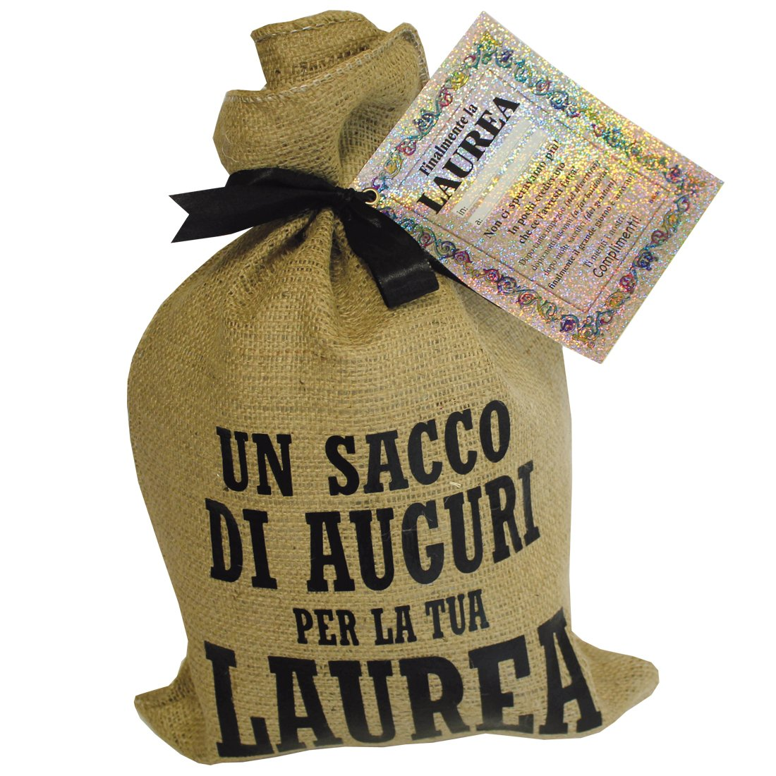 abbastanza Un sacco d'auguri per laureato. Regalo originale.: Amazon.it  KY05