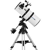 """Zoomion Genesis 200 EQ, telescopio Reflector más Grande de 8"""" con Apertura de 200 mm y 800 mm de Distancia Focal para Aficionados"""