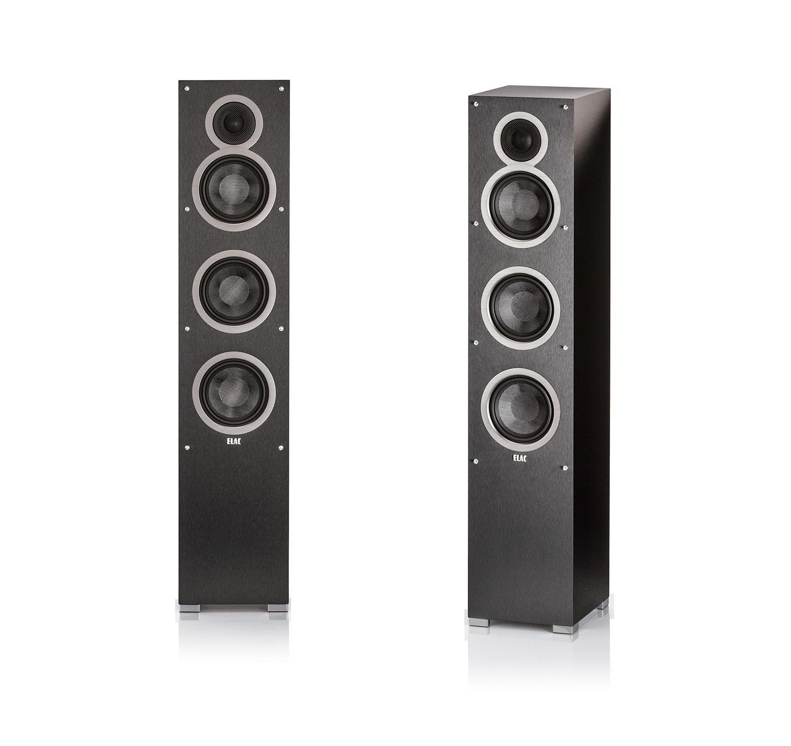 (1 Pair) ELAC - Debut F5 Tower Speakers (Each) Bundle by Elac